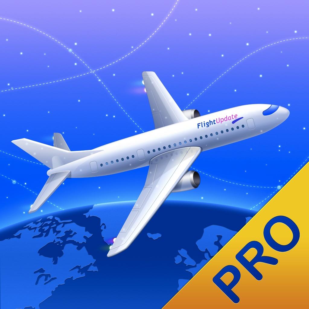 Flight Update Pro - Live Flight Status, Push Alerts + TripIt Sync - Silverware Software, LLC