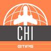 シカゴ 旅行ガイド - 拡張現実感ありのオフラインの市街地図およびメトロ - 観光者向けの公式シティーガイド